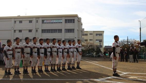 松林リーグの閉会式が行われました。